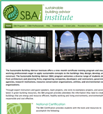 Sustainable Builder Advisory Institute